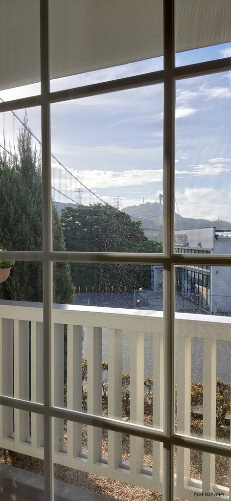 旅籠屋壇之浦店の客室窓からの風景