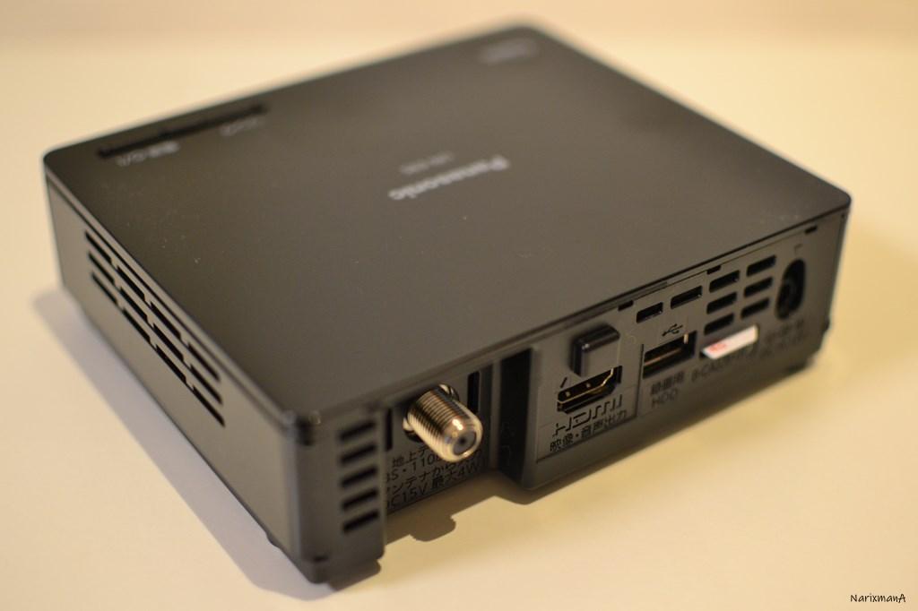 無線LAN内蔵の別体チューナー