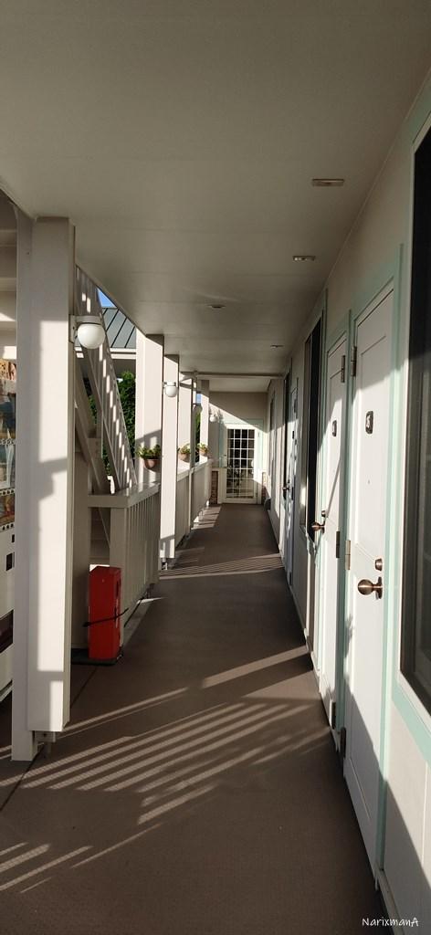 旅籠屋壇之浦店の客室廊下