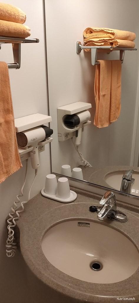 旅籠屋壇之浦店の洗面所