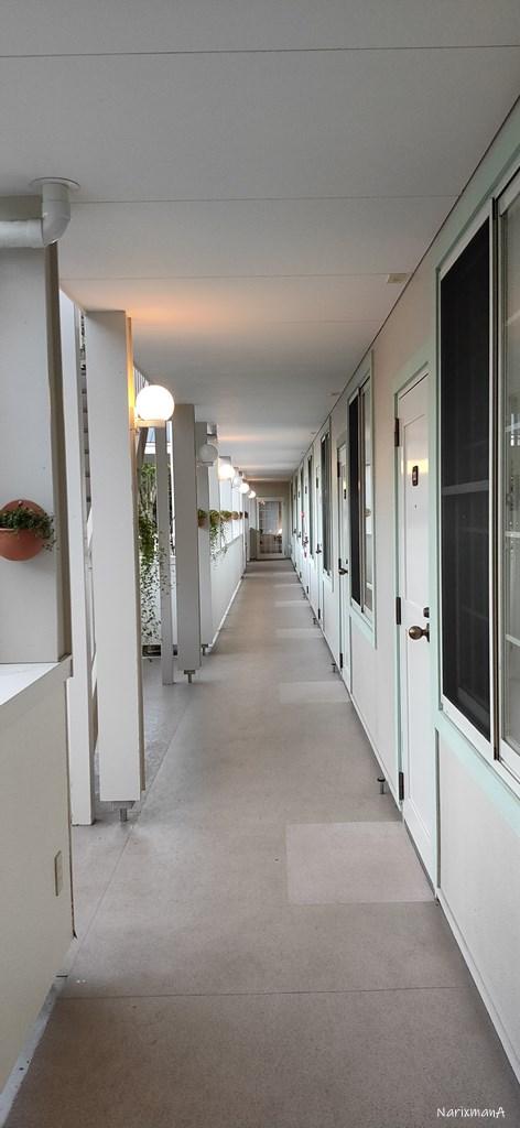 旅籠屋宮島店の客室前廊下