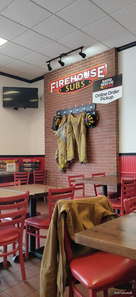 Firehouse Subs 店内の様子