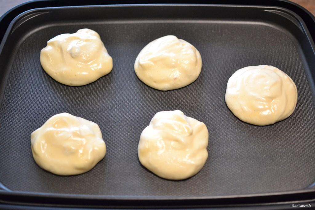 パンケーキの生地
