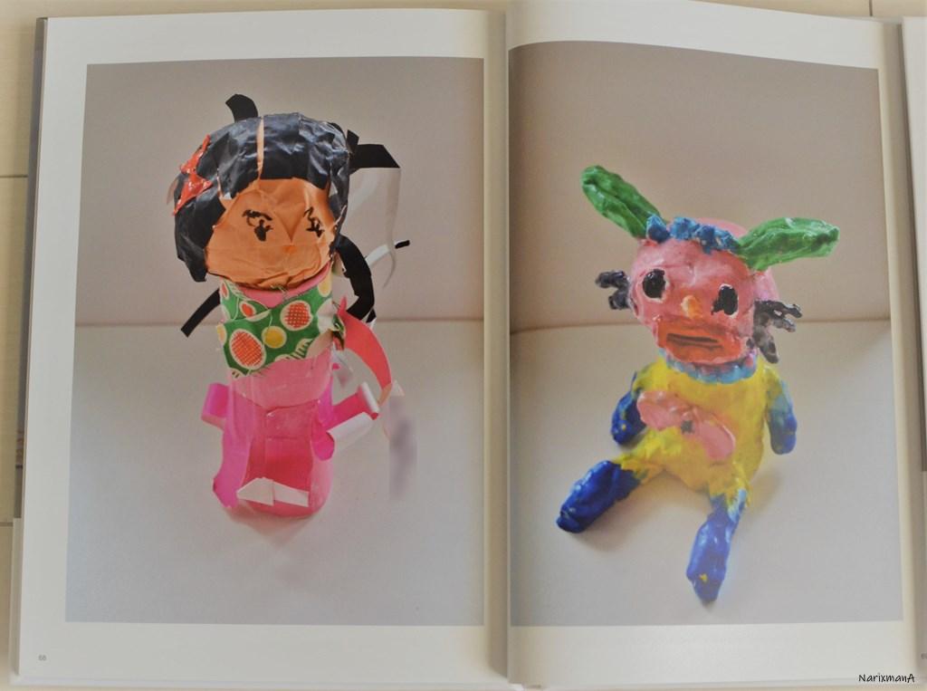 幼稚園の作品(人形)