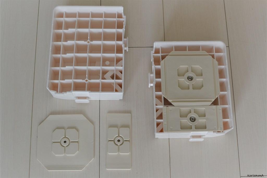 背面側ブロックの組立
