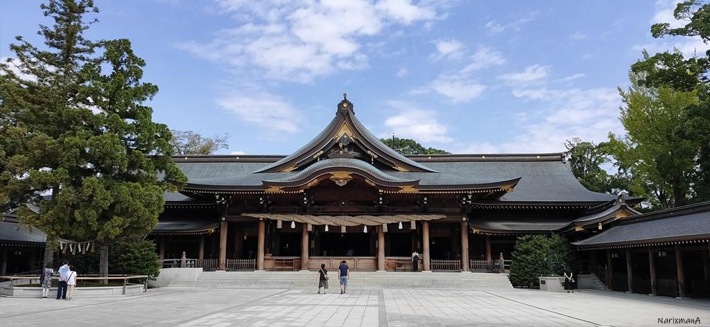 寒川神社 御社殿