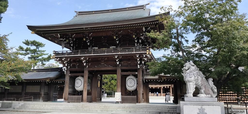 寒川神社 神門