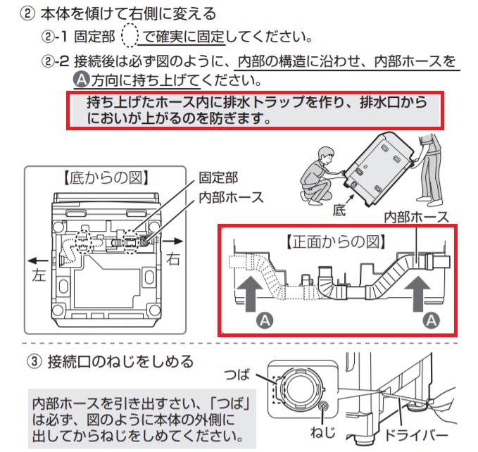 ES-W113取扱説明書 64ページ抜粋